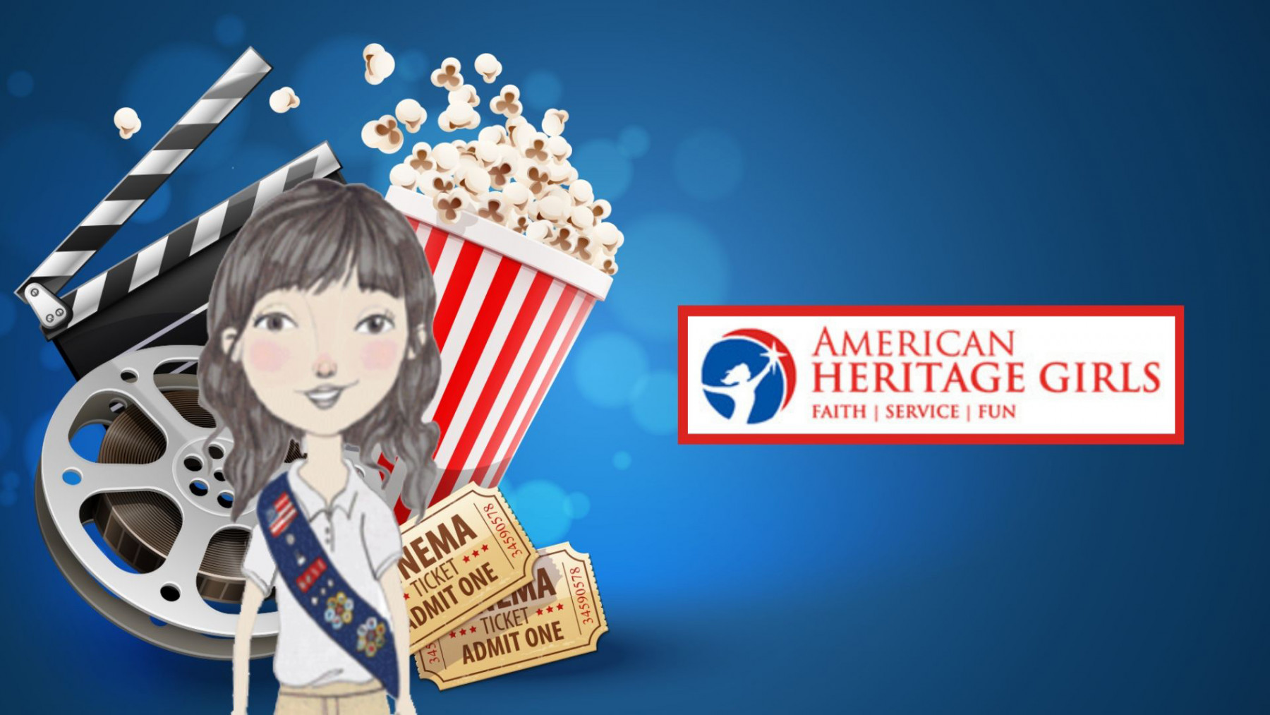 American Heritage Girls Bring a Friend Movie Night