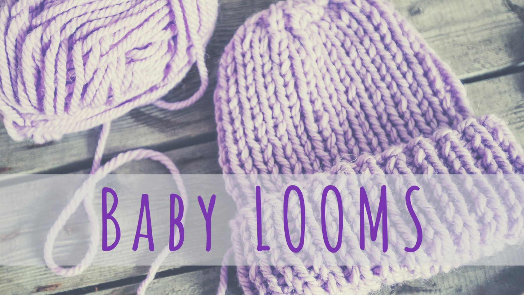 Baby Looms Monthly Gathering