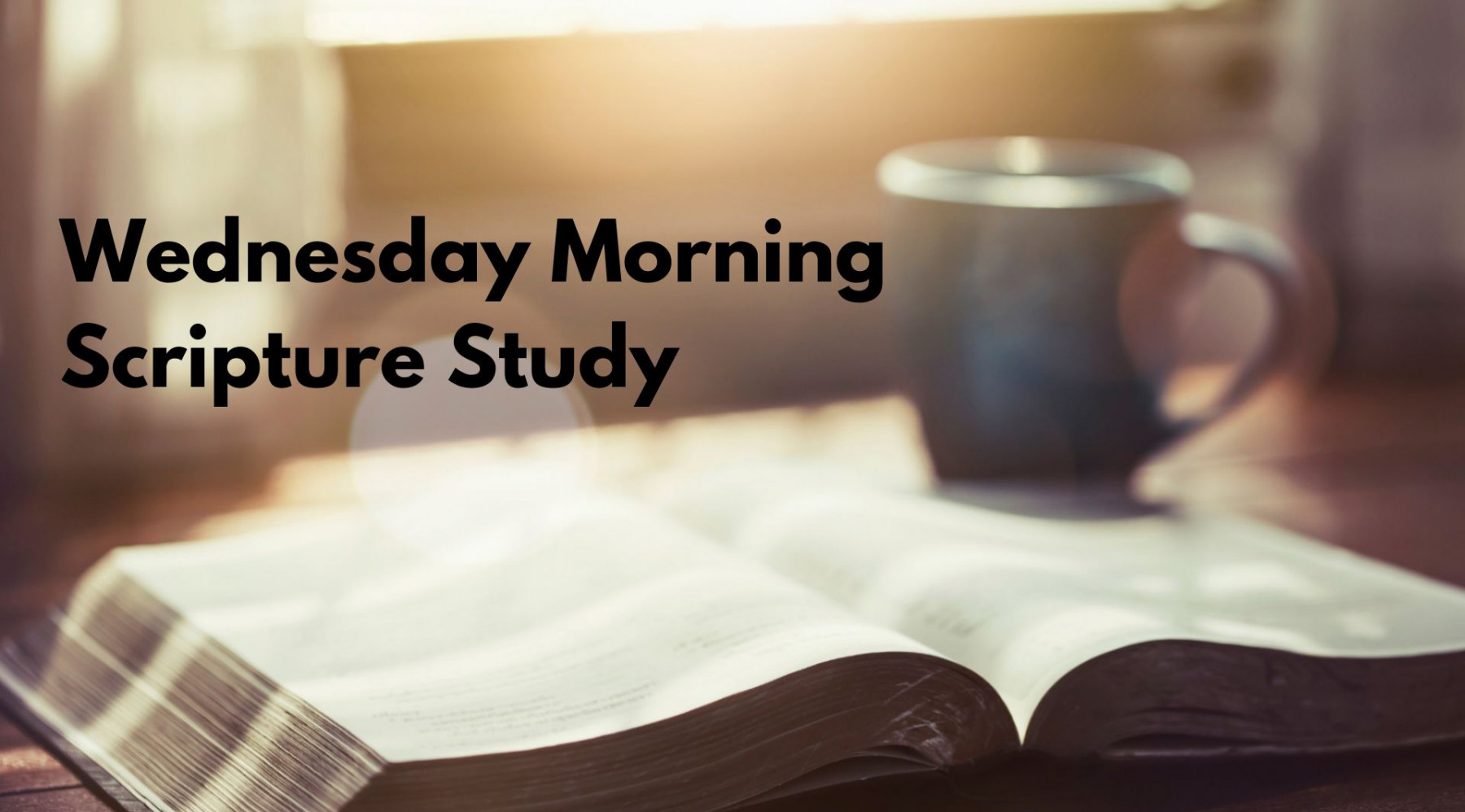 Wednesday Morning Scripture Study